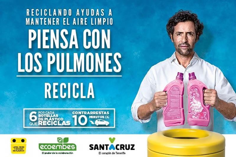 Santa Cruz lidera el crecimiento del reciclaje de envases ligeros en Canarias
