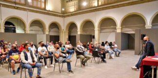 Una de las reuniones denunciadas por el PSOE y Cs./ Cedida.