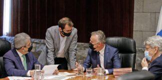 Consejo de Gobierno Extraordinario./ Cedida.