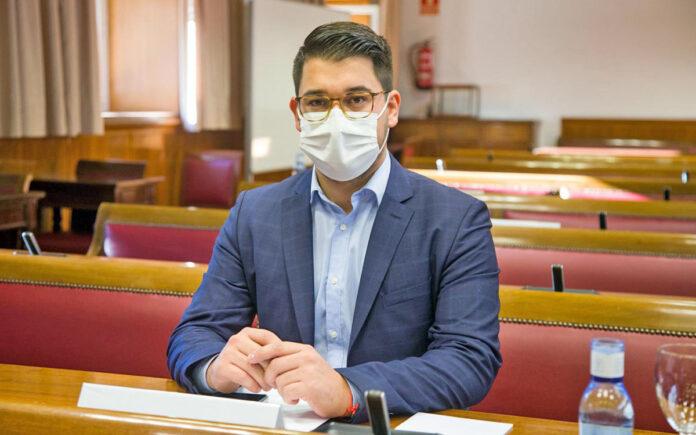 Fabián Chinea, senador de la Agrupación Socialista Gomera./ Cedida.