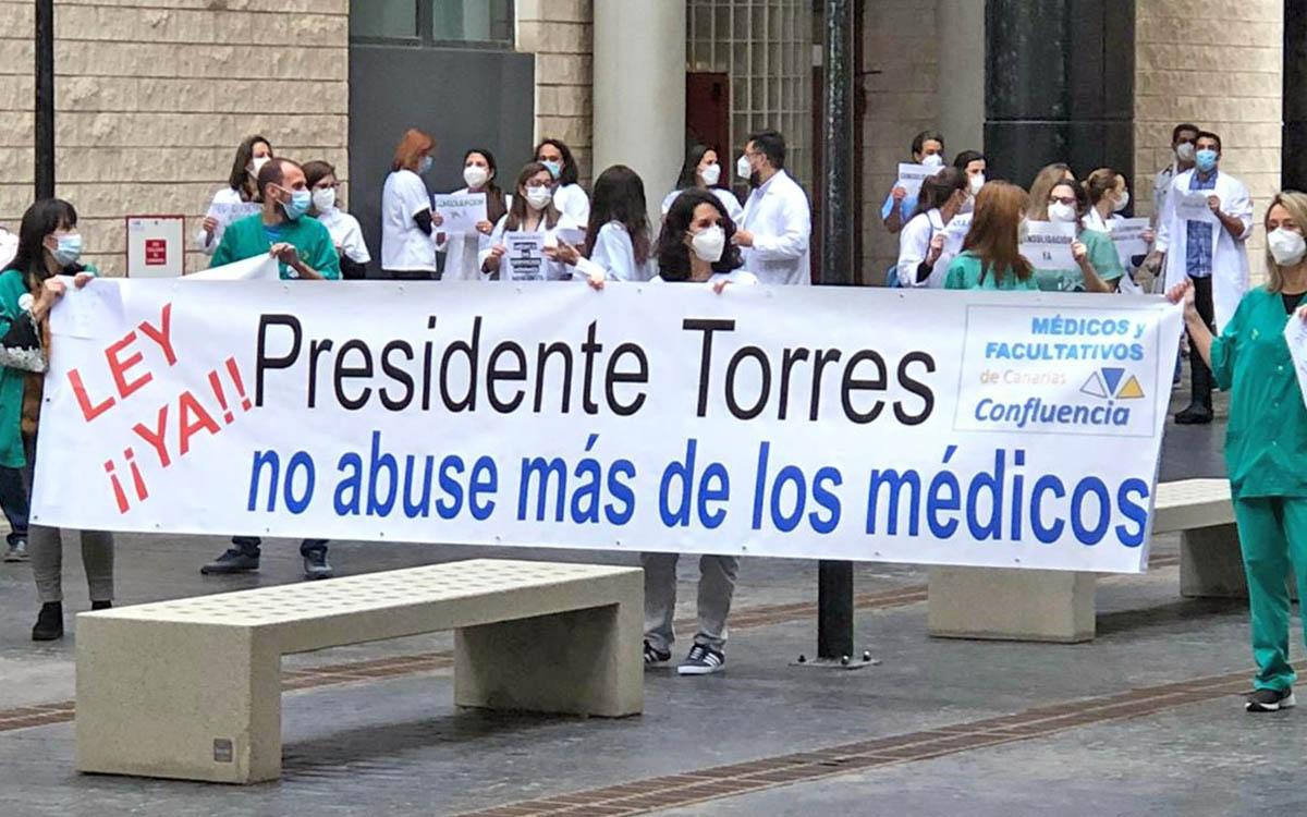 Intersindical Canaria ve justas y merecidas las reivindicaciones del colectivo de facultativos temporales