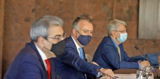 Junta de Seguridad celebrada hoy en S/C. de Tenerife./ Cedida.
