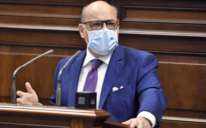 José Miguel Barragán, portavoz del Grupo Nacionalista./ Cedida.