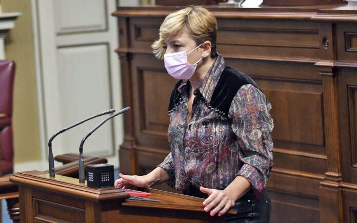 Nayra Alemán, portavoz del Grupo Parlamentario Socialista./ Cedida.