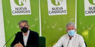 Rueda de prensa ofrecida por Rodríguez y Quevedo./ Cedida.