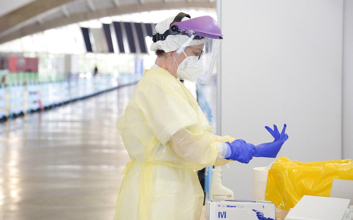 Coronavirus: hoy, 1 fallecido y 104 nuevos casos positivos por COVID-19 en Canarias