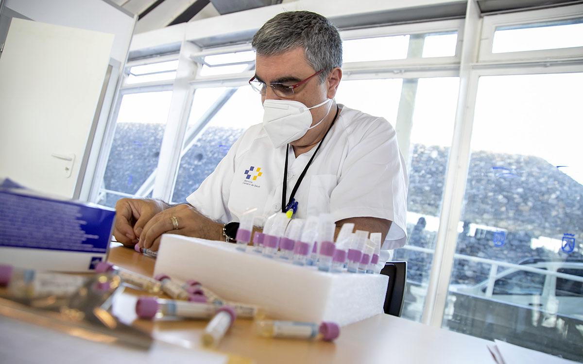 Coronavirus: hoy, 1 fallecido y 119 nuevos casos positivos por COVID-19 en Canarias