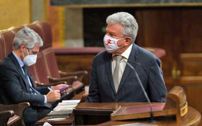 Pedro Quevedo, diputado de NC en el Congreso./ Cedida.