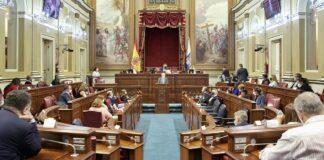 Pleno Parlamento de hoy 2 de diciembre./ Cedida.