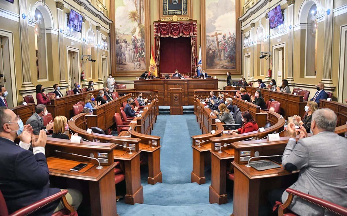 Parlamento de Canarias: hoy, sesión plenaria y de control