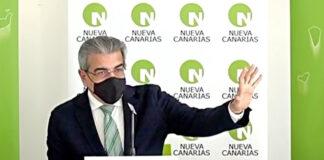 Román Rodríguez, presidente de Nueva Canarias./ Cedida.