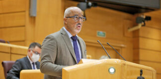 Ramón Morales, senador socialista canario./ Cedida.