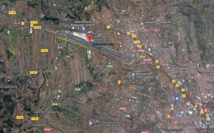 TF-24 y TF-5, La Laguna./ Google Maps.