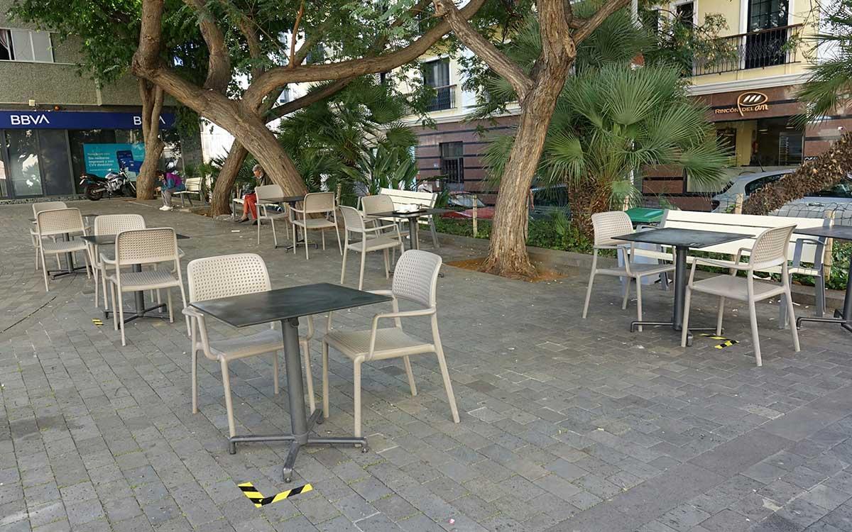 Casi 130 negocios piden ampliación o nueva terraza tras el decreto del alcalde de ayer