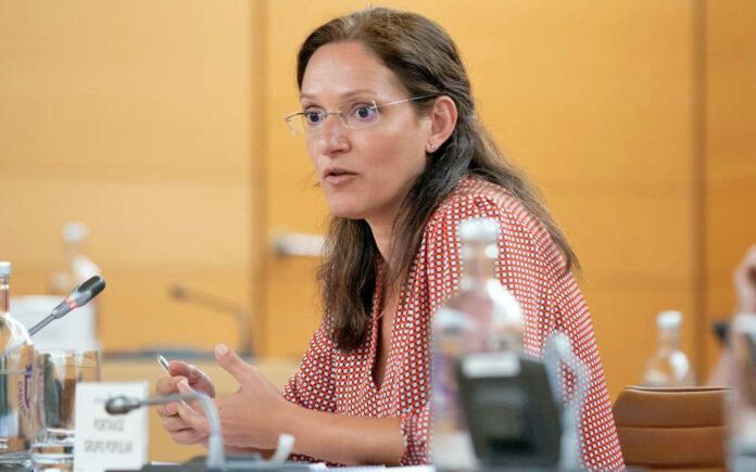 Zaida González, portavoz del Partido Popular en el Cabildo./ Cedida.