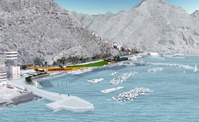 Proyecto del litoral de Valleseco./ Cedida.