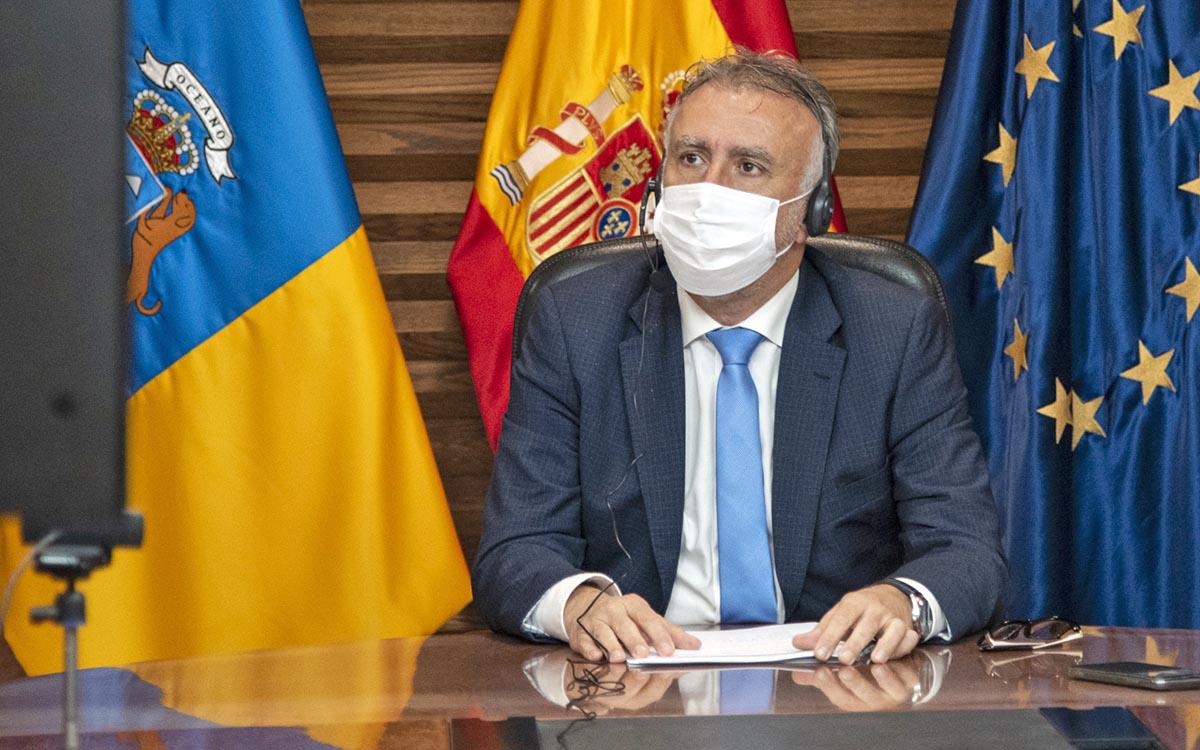 """Canarias defiende políticas europeas """"unidas y coordinadas"""" para reactivar el turismo y dar respuesta a la migración"""
