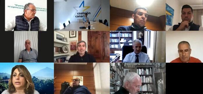 Comité Ejecutivo Nacional de Coalición Canaria-PNC./ Cedida.