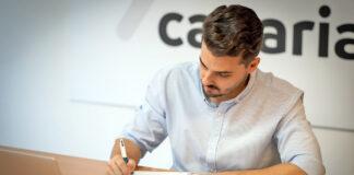 David Toledo, secretario general de Organización de Coalición Canaria-PNC./ Cedida.
