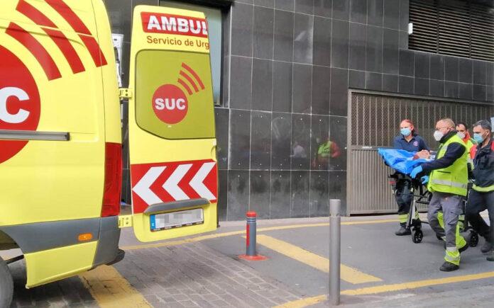 Evacuación en el centro de la capital chicharrera./ Cedida.