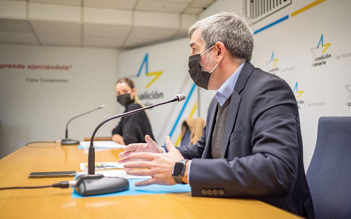 CC insta al Gobierno canario a definir sus intenciones sobre el FDCAN