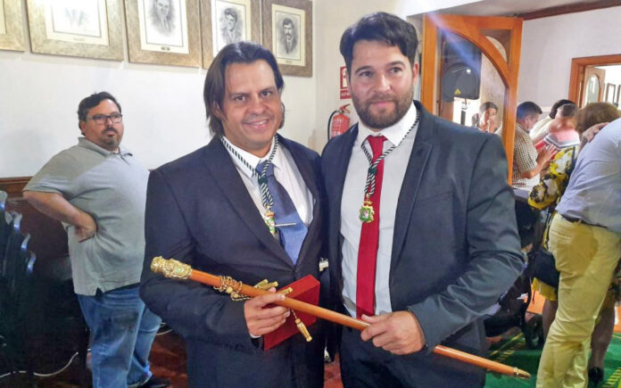 Gustavo Pérez Martín (Izq.) y Airam Puerta Pérez (der.)./ Cedida.
