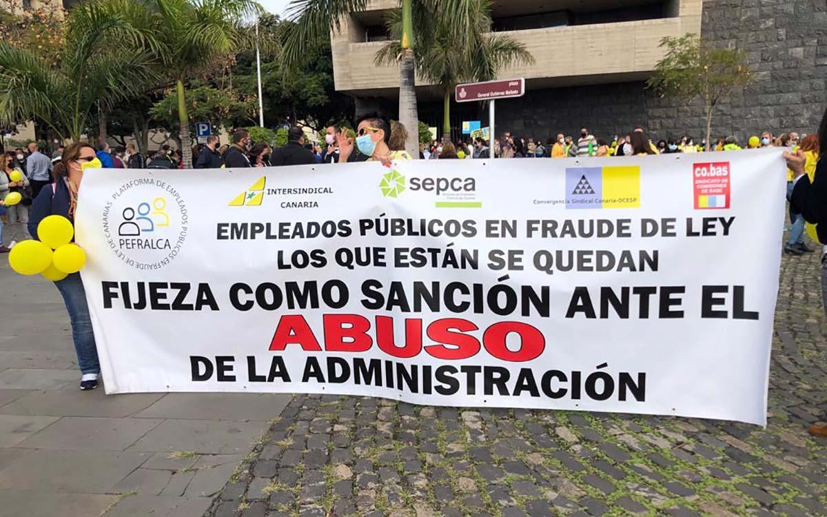 El Comité de Huelga de los Empleados Públicos pide negociar con el consejero Julio Pérez