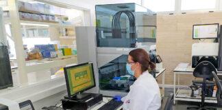 Laboratorio de Genomica./ Cedida.