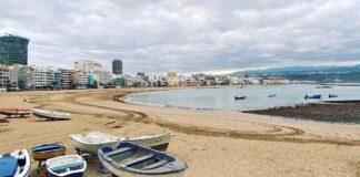 Playa de Las Canteras./ Cedida.