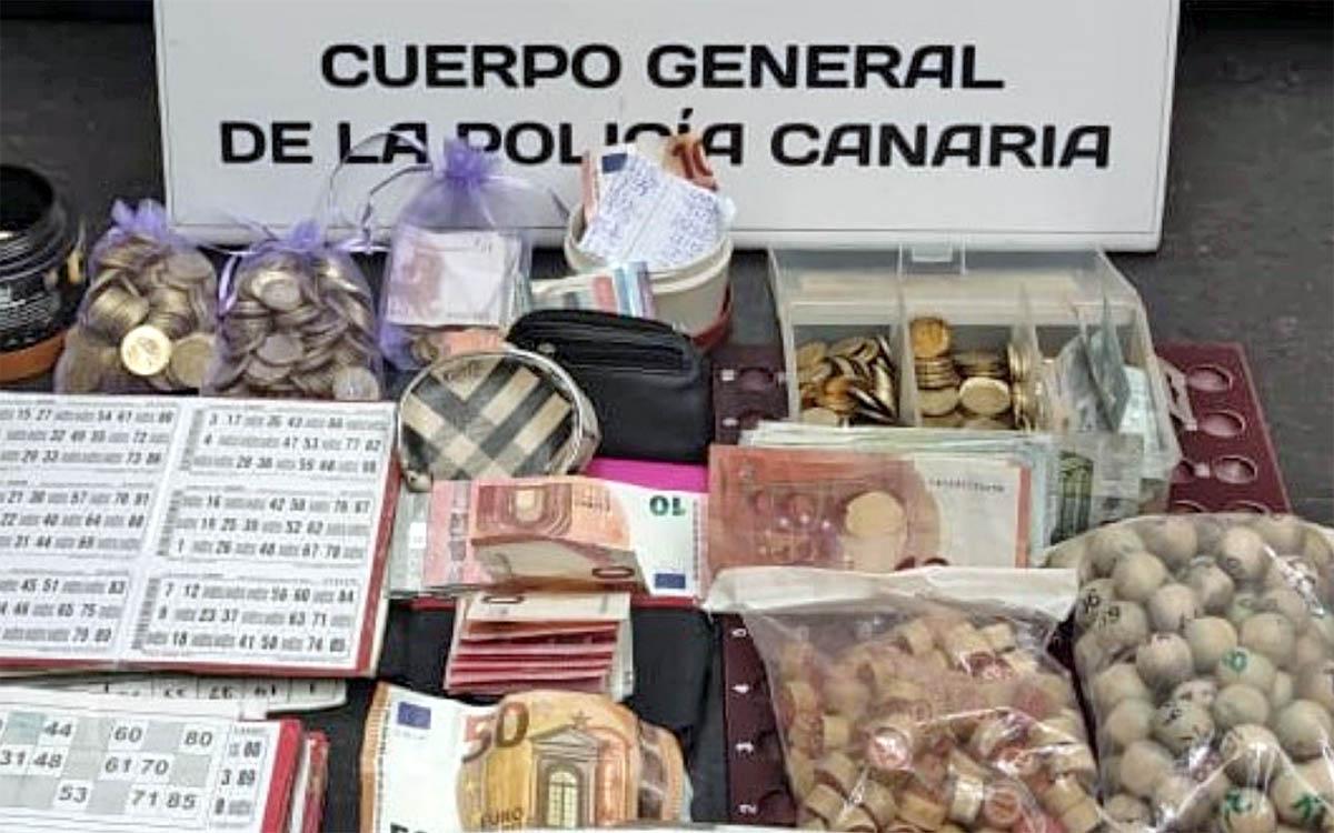La Policía Canaria propone sancionar a 18 personas por incumplir restricciones anticovid al jugar al bingo