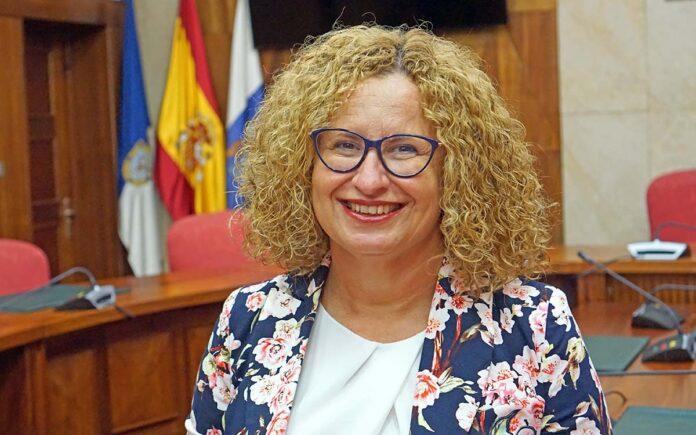 Nieves Hernández, consejera de Acción Social del Cabildo de La Palma./ Cedida.