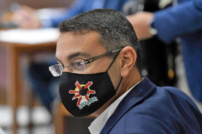Oswaldo Betancort, diputado por Lanzarote del Grupo Nacionalista./ Cedida.