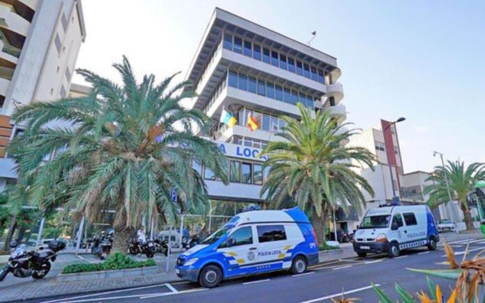 Sede de la Policía Local de Santa Cruz de Tenerife./ Cedida.