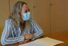 Susana Machín Rodríguez, consejera de Sanidad del Cabildo de La Palma./ Twitter.