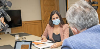 Vidina Espino, portavoz de Cs en el Parlamento de Canarias./ Cedida.