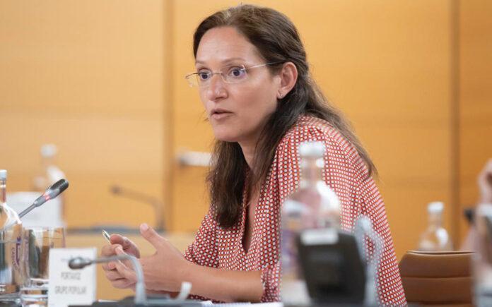 Zaida González, portavoz Popular./ Cedida.