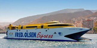 El Bentago Express de Fred Olsen.
