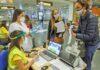 Control de pruebas diagnósticas de COVID-19 de viajeros nacionales que llegan a Canarias./ Cedida.