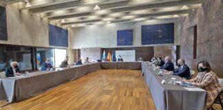 Reunión de la comisión de seguimiento del Plan./ Cedida.