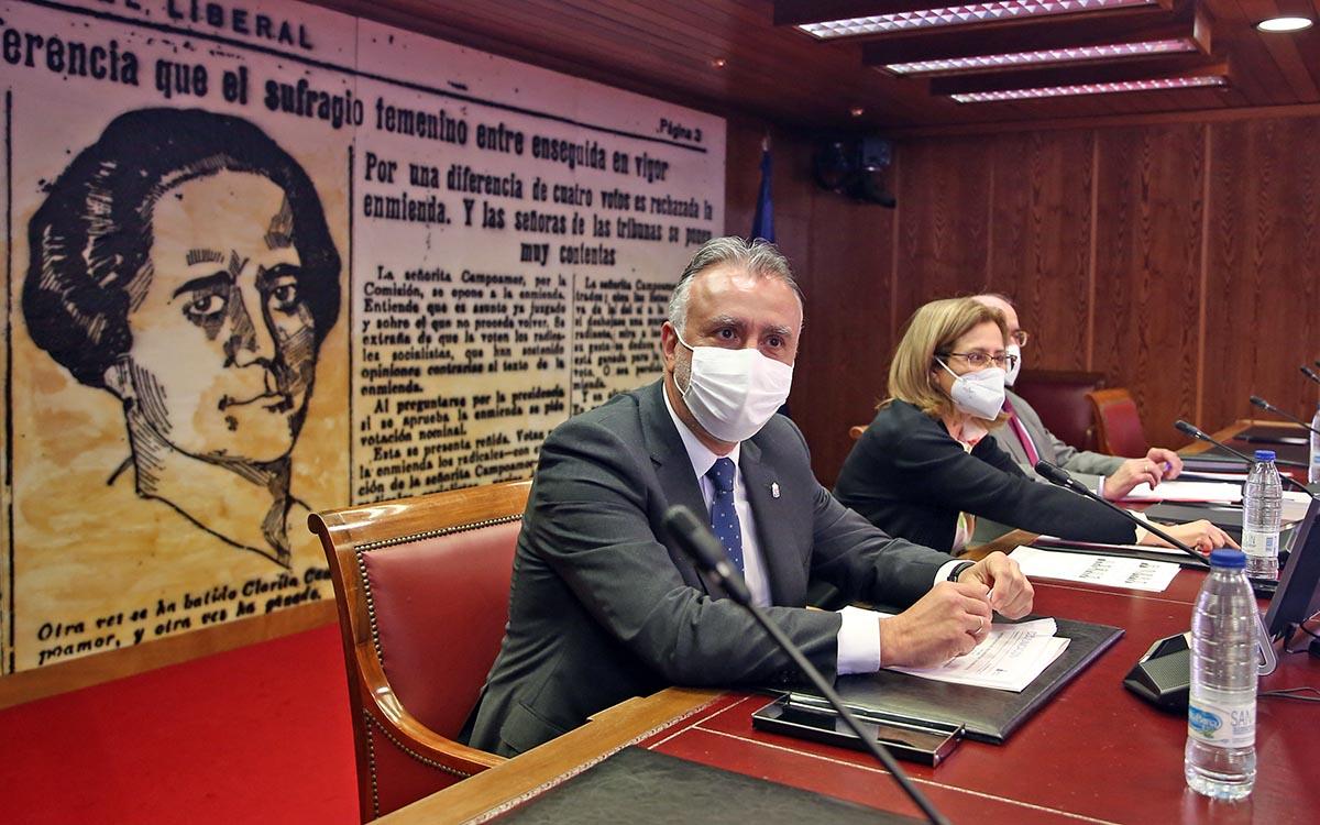 Torres reclama en el Senado la implicación de todas las instituciones para una política migratoria corresponsable