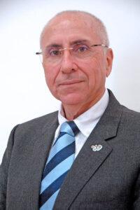 Antonio Rico Revuelta, presidente autonómico de Cruz Roja Canarias.