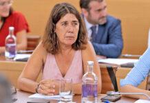 Blanca Pérez, consejera de CC-PNC en el Cabildo Insular de Tenerife./ noticias8islas.com