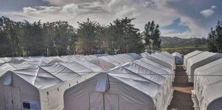 Campamento de Las Raíces./ Cedida.