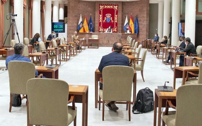 Hoy en la Comisión de Economía, Conocimiento y Empleo./ Cedida.