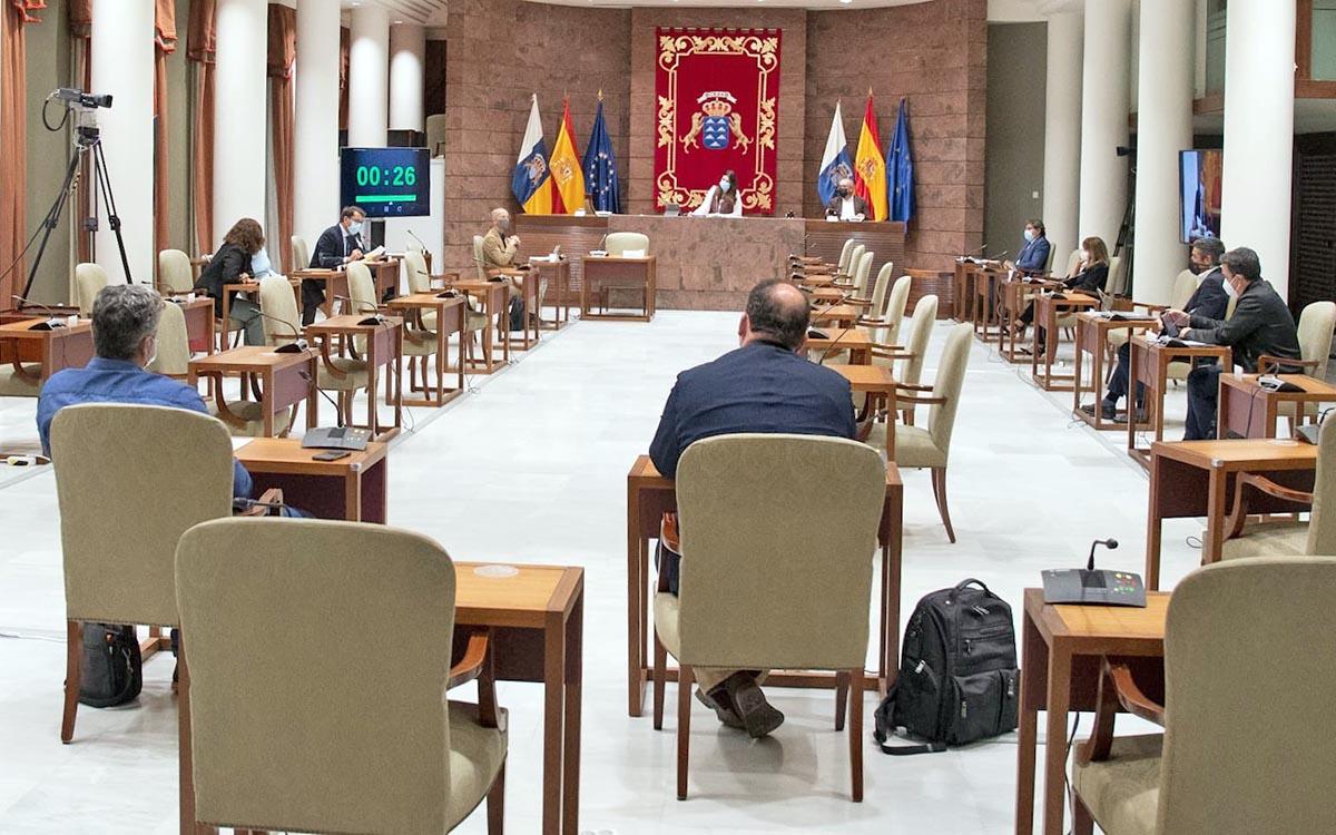Parlamento de Canarias: hoy, Comisión de Economía, Conocimiento y Empleo