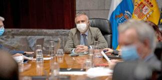 Consejo Gobierno celebrado hoy en Santa Cruz de Tenerife./ Cedida.