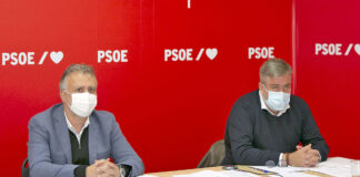 Comisión Ejecutiva regional del PSOE de Canarias, 5 de febrero de 2021./ Cedida.