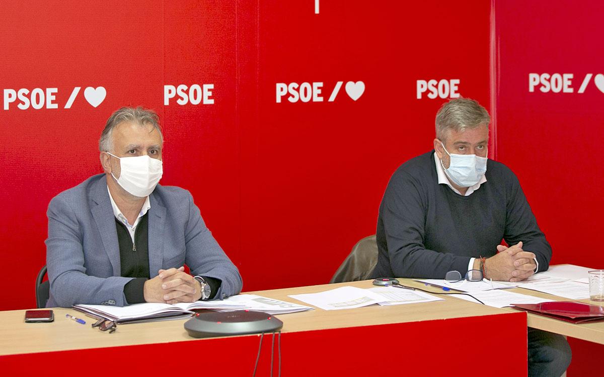 El PSOE de Canarias aprueba una resolución de condena de las actitudes xenófobas y contra la desinformación