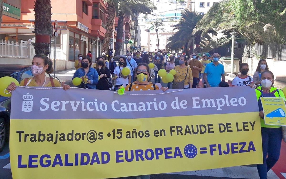 El Comité de Huelga pedirá un mediador ante la inacción del Gobierno de Canarias