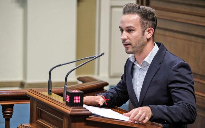 Omar López, diputado socialista./ Pepe Torres.
